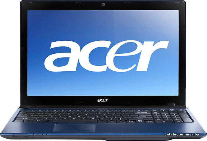 Ноутбук Acer Aspire 5750ZG - технические характеристики и ...